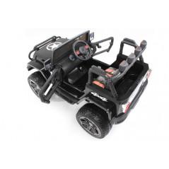 Electric jeep 4x4 black 12 volts child remote control