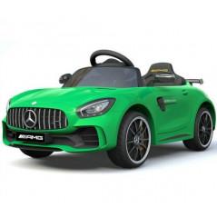Voiture électrique pour enfant Mercedes GTR Verte 12 Volts Véhicules électriques GTR/V