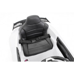 Mercedes GTR White Electric car For children 12 Volts