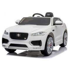 Jaguar F-Pace S 12 volts blanc, voiture électrique pour enfant avec télécommande parentale Voitures électriques enfants FPACE/B