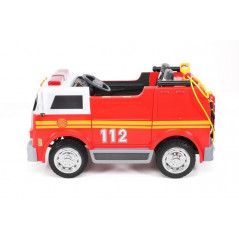 Electric Fire Truck LL911 For children 12 Volts with parental remote control