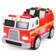 Camion Pompier LL911 Electrique Pour enfants 12 Volts avec télécommande parentale Accueil LL911/12