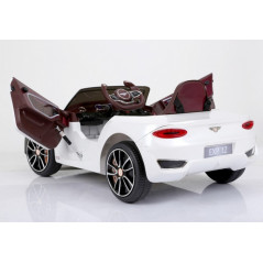 Bentley EXP12 White, Electric Car for Children 12 volts