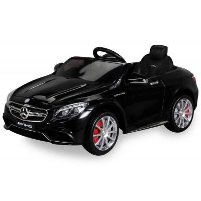 Mercedes-Benz S63 AMG Voiture électrique Pour enfant 12 Volts Noir Métallisé Voitures électriques enfants S63BK
