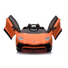 Lamborghini SV Orange 12 Volts Electric for children with parental remote control