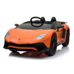 Lamborghini SV Orange 12 Volts Electrique pour enfant avec télécommande parentale Voitures électriques enfants LAMBO/OR