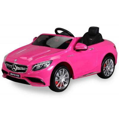 Mercedes-Benz S63 AMG Voiture électrique Pour enfant 12 Volts Rose Voitures électriques enfants S63ROSE