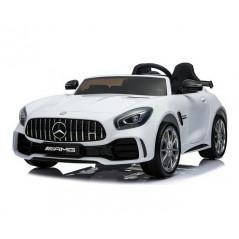 Mercedes GTR 2 places, Voiture électrique Pour enfant 12 Volts, Blanche Voitures électriques enfants GTR2/BLANC
