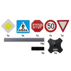 Panneaux de signalisation 5 pièces Modèle A