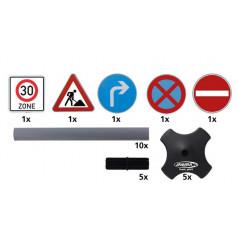 Panneaux de signalisation 5 pièces Modèle B