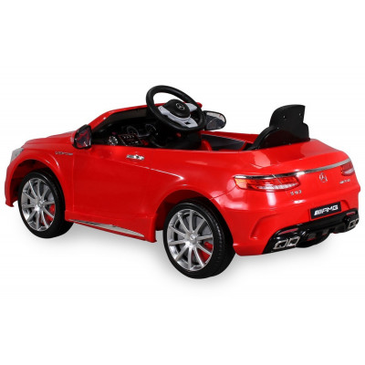 Mercedes-Benz S63 AMG Electric Car For Children 12 Volts Red