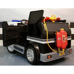 Electric Police Truck For children, 2 seats 12 Volts with parental remote control