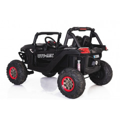 Beach Buggy 2 places 12 Volts Carbon look 4x4, MP4 with electric parental remote control child remote control