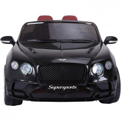 Bentley Continental SuperSports Electric 12 Volts, metallic black, parental remote control