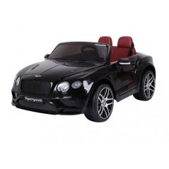 Bentley Continental SuperSports Electrique 12 Volts, noir métallisé, télécommande parentale Accueil BENSPS/NOIR