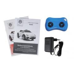 Mercedes-Benz SLS 12 Volts Gris métallisé + écran tactile MP4 Voiture électrique Pour enfant