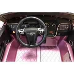 Bentley Continental SuperSports Electric 12 Volts, Metallic Pink, Parental Remote