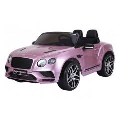 Bentley Continental SuperSports Electrique 12 Volts, rose métallisé, télécommande parentale Voitures électriques enfants BENS...