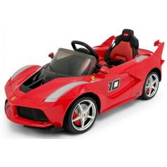Ferrari FXX-K Voiture Electrique Pour enfant 12 Volts Rouge avec Télécommande Parentale Accueil FXX-K/R