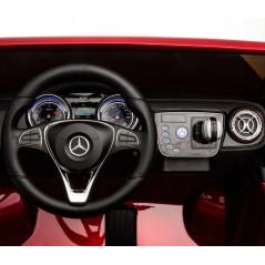 Mercedes GL63 AMG voiture électrique enfant 12 Volts Blanche