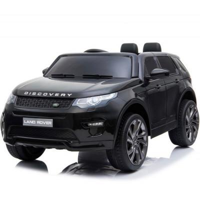 Land Rover Discovery Noir métallisé, Ecran MP4 voiture électrique pour enfant 12 Volts avec télécommande parentale Voitures é...