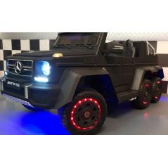 Mercedes-Benz G63 6x6, Electric Car for Children 12 Volts, matt black