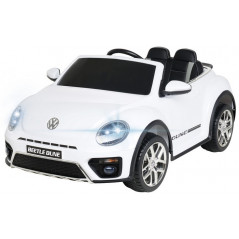 Volkswagen Beetle Dune Blanche 12 Volts Electrique pour enfant avec télécommande parentale Voitures électriques enfants DUNE/...
