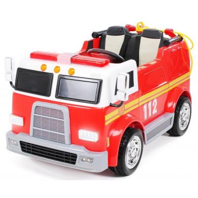 Camion Pompier LL911 Electrique Pour enfants 24 Volts avec télécommande parentale Accueil LL911/24