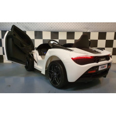 McLaren 720S Electric car for children 12 Volts with parental remote control