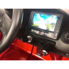 McLaren 720S Red with TV / MP4 Electric car For children 12 Volts with parental remote control