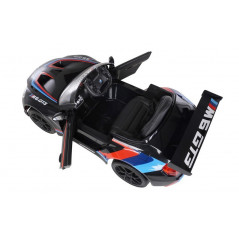 BMW M6 GT3 Black 12 Volts Electric for children with parental remote control