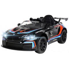 BMW M6 GT3 Noire 12 Volts Electrique pour enfant avec télécommande parentale Voitures électriques enfants M6GT3/N