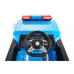 12 Volt Electric Police Truck, 1 seat with parental remote control