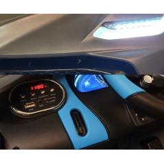 Mercedes A45 AMG 12 Volts Blanche Voiture électrique Pour enfant avec Télécommande Parentale