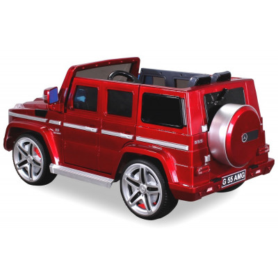 Mercedes AMG G55 Electric Car For Children 12 Volts Metallic Red