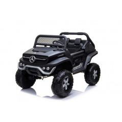 Mercedes GL63 AMG voiture électrique enfant 12 Volts Noir Mat