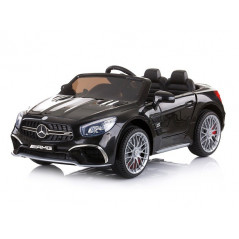 Mercedes-Benz SL65 AMG Voiture électrique pour enfant 12 Volts Noire Voitures électriques enfants SL65/NOIR