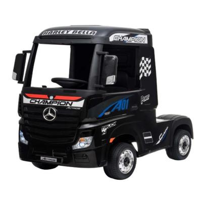 Mercedes Actros Noir,12 Volts, Camion électrique pour enfant avec télécommande 2.4 Ghz, roues EVA Véhicules électriques ACTRO...