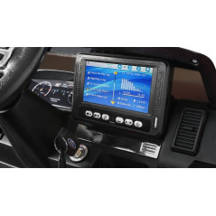Maserati Levante 6 Volts Blanche Voiture électrique pour enfant avec télécommande parentale
