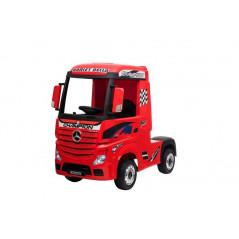 Mercedes Actros Rouge,12 Volts, Camion électrique pour enfant avec télécommande 2.4 Ghz, roues EVA Véhicules électriques ACTR...