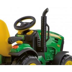 Tracteur John Deere Ground Force Electrique pour Enfant 12 Volts Peg-Pérego