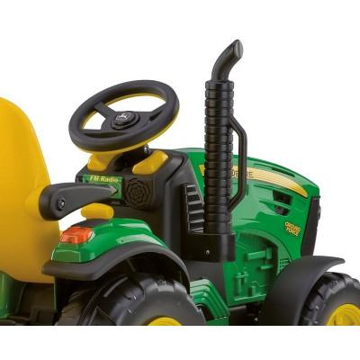 John Deere Ground Force Electric Child Tractor 12 Volts Peg-Pérego