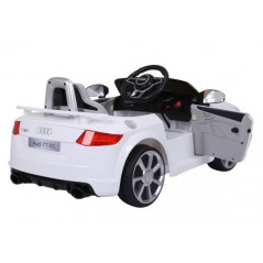 Audi TT RS 12 volts Blue children's electric car with remote control