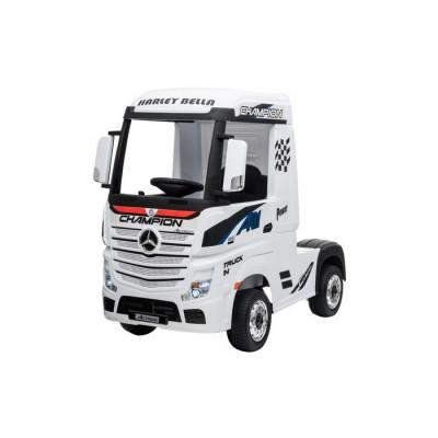 Mercedes Actros Blanc,12 Volts, Camion électrique pour enfant avec télécommande 2.4 Ghz, roues EVA Véhicules électriques ACTR...