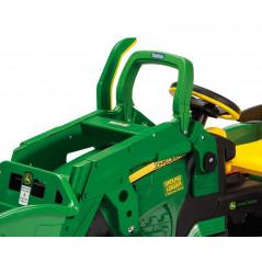 Tracteur John Deere Ground Loader Electrique pour Enfant 12 Volts Peg-Pérego