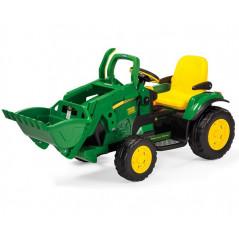 Tracteur John Deere Ground Loader Electrique pour Enfant 12 Volts Peg-Pérego Tracteurs électriques pour enfants  OR0068
