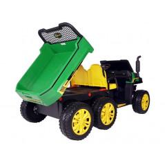 Farmer Jeep 6x6, 12 Volts 2 seats 4 wheel drive with prentale remote control