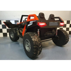 Red Electric Power Buggy 24 Volts 2 places For children