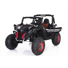 Jeep A30 12 Volts Noire Electrique pour Enfant avec télécommande parentale