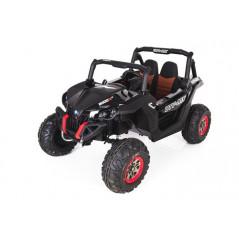 Jeep A30 12 Volts Rouge Electrique pour Enfant avec télécommande parentale